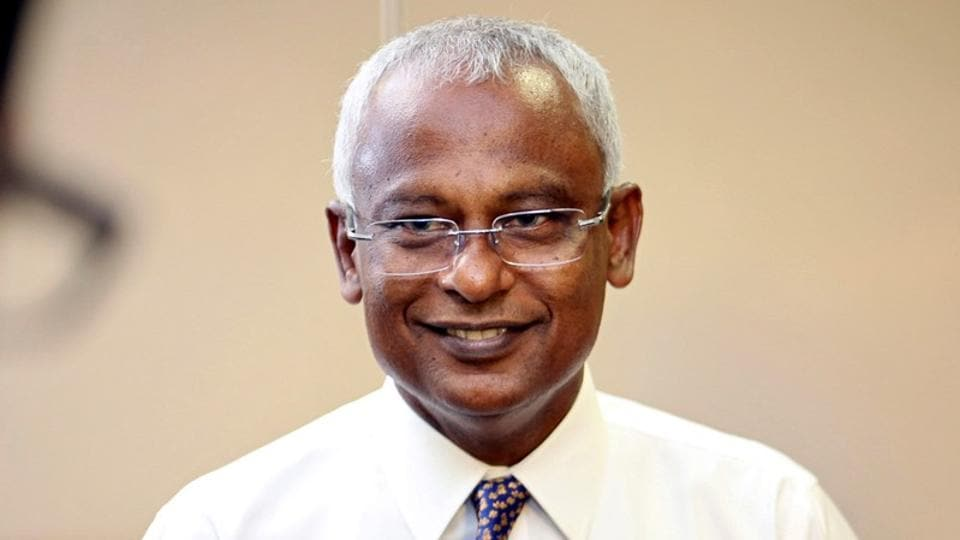 Image result for maldives new president 2018