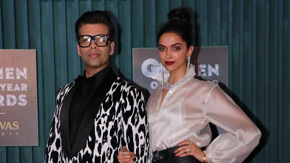 Deepika Padukone,Saif Ali Khan,GQ Awards red carpet