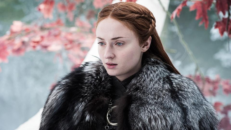 Sophie Turner in a still from Game of Thrones.