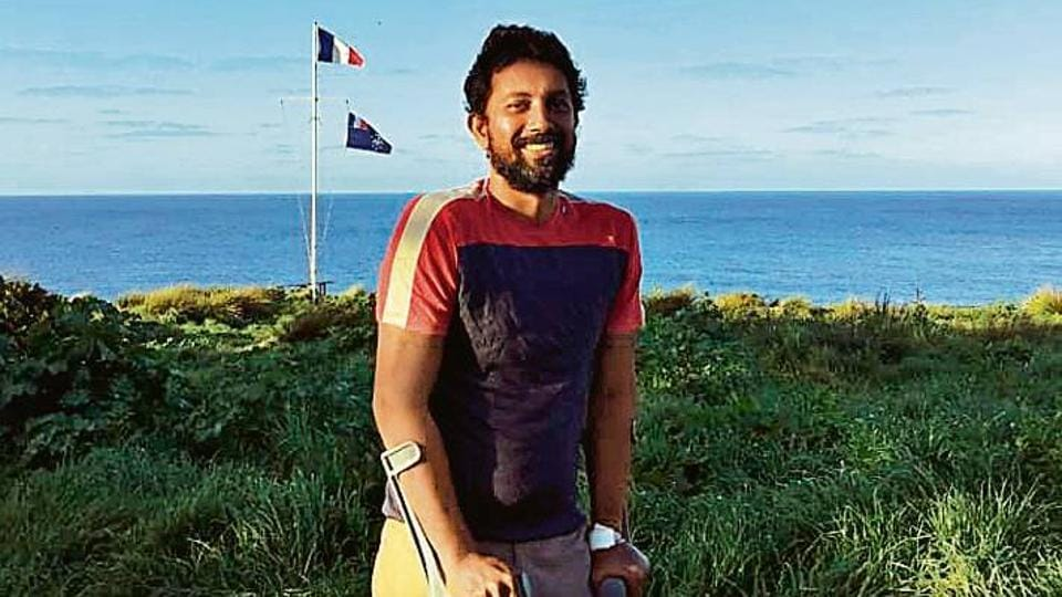 Commander Abhilash Tomy is now recovering from a back injury he suffered while negotiating a deadly storm that left his yacht, SV Thuriya, crippled last week
