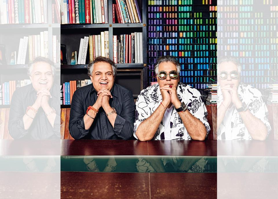 Abu Jani and his life and business partner, the buoyant Sandeep Khosla, are now in their 32nd year of business – and love – together