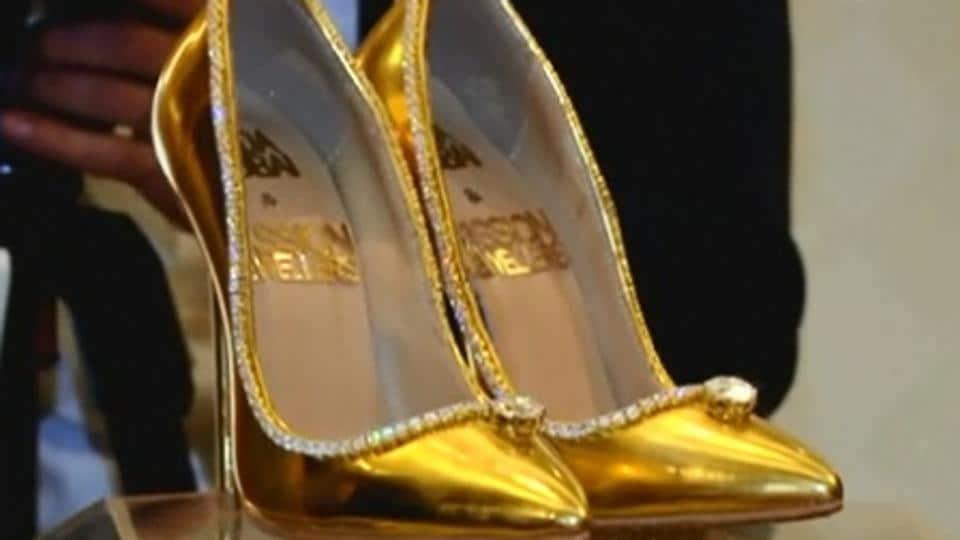 Diamond Shoes,Golden Shoes,$17 mln