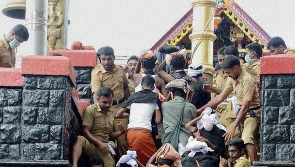 Sabarimala temple can't shut doors on women, rules Supreme ...