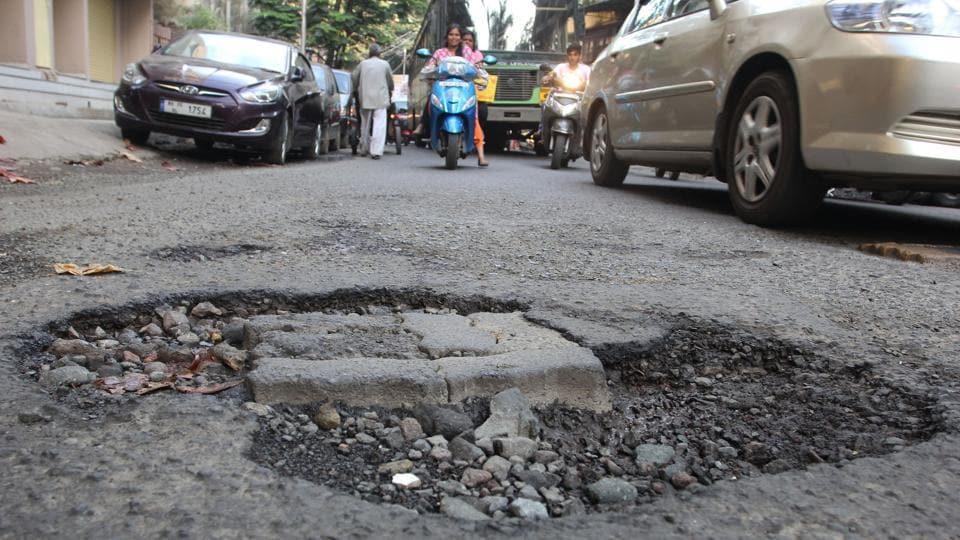 Haryana,Harpath,pothole