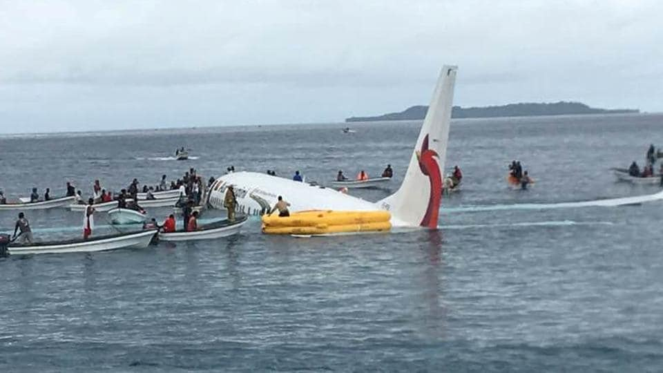 Plane crash near Papua New Guinea