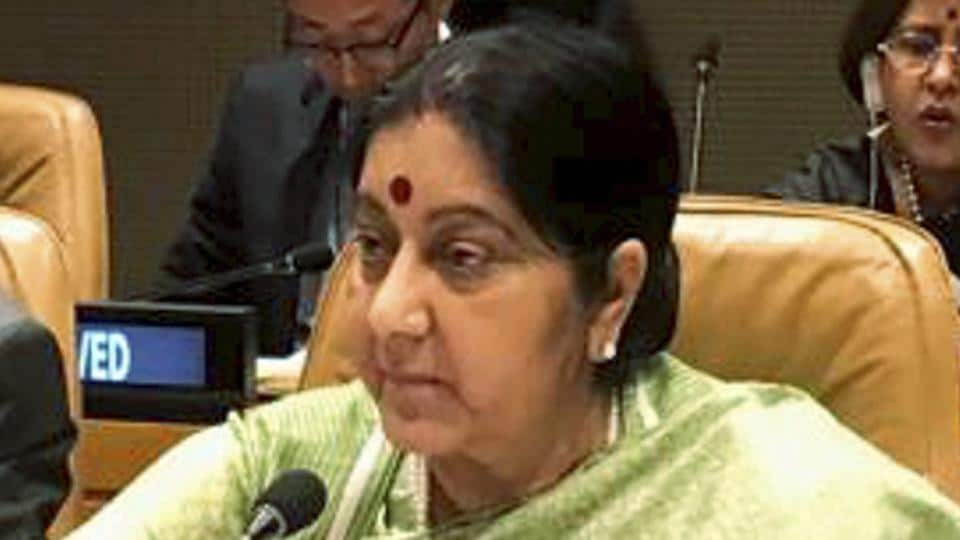 sushma swaraj,sushma swaraj at UNGA,SAARC foreign ministers meeting in New York
