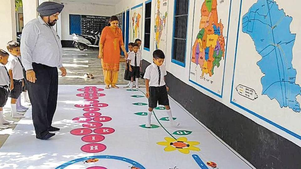 Faridkot government school,Learning,Innovation