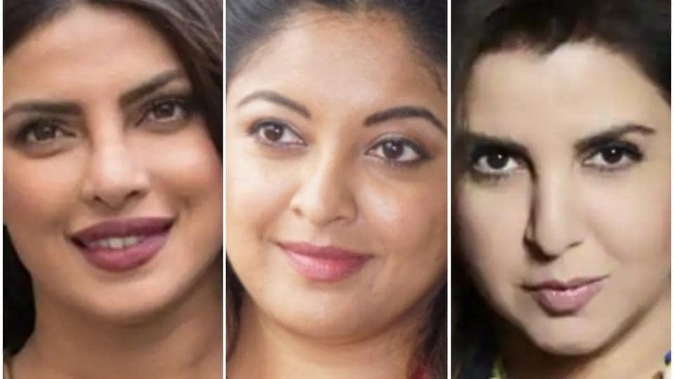 Tanushree Dutta,Farah Khan,Priyanka Chopra