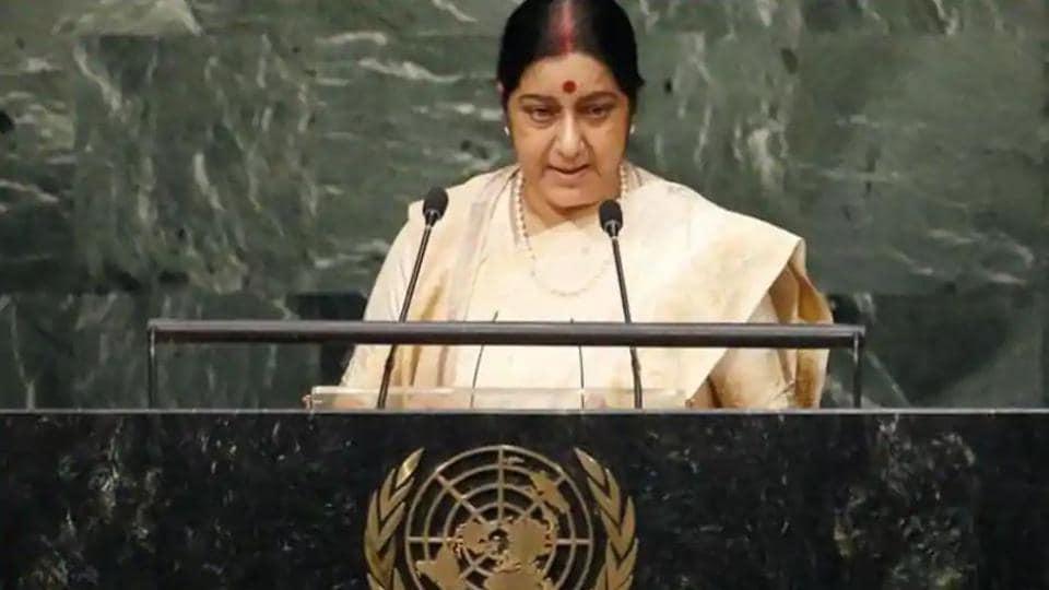 Sushma Swaraj speech,Sushma Swaraj,United Nations