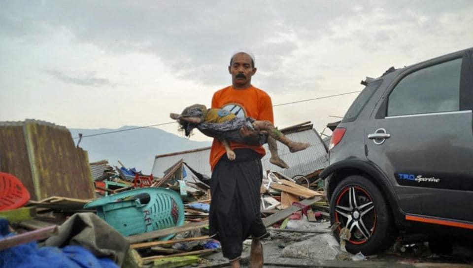Indonesia earthquake,Indonesia,Sulawesi island