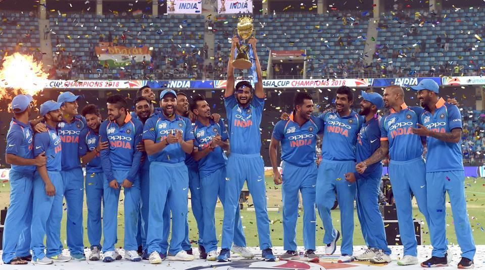 India clinched Asia Cup for the record seventh time (photo - getty)