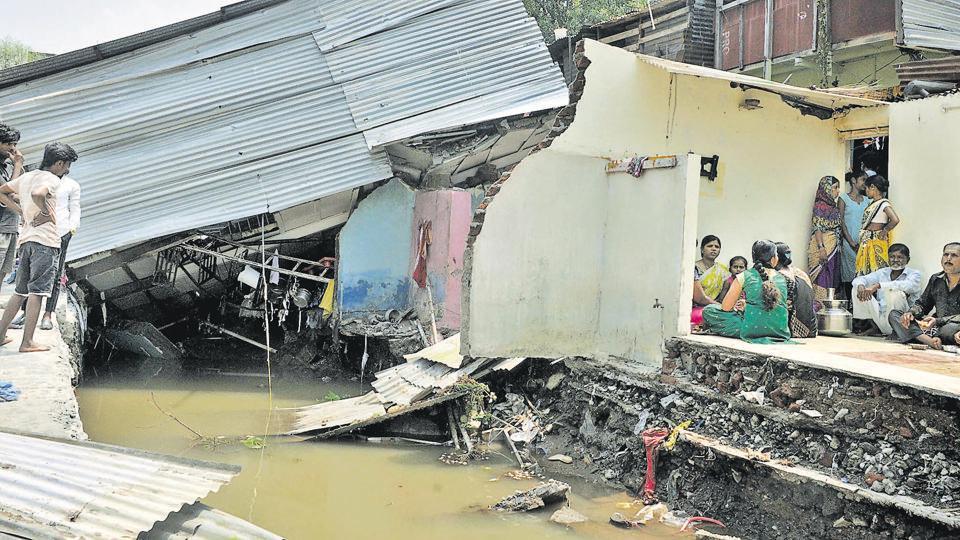 Mutha canal breach,bjp,mla