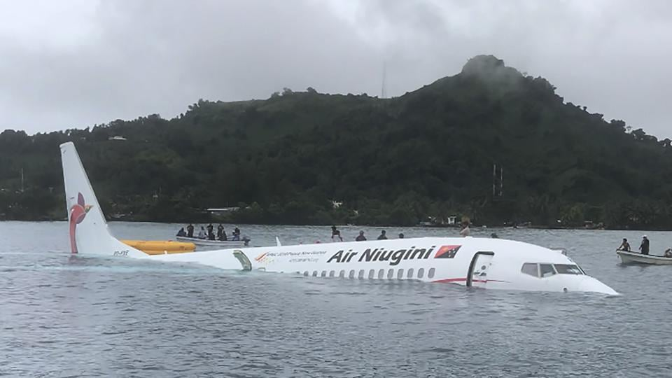 Micronesia,Plane crash,Lagoon plane crash