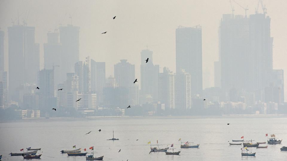 The IMD attributed the haze to monsoon's withdrawal, and dry air from the north mixing with moisture from the Arabian Sea and Bay of Bengal.