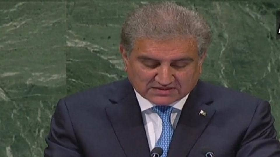 """Pakistan Foreign Minister Mahmood Qureshi on Saturday accused India of choosing politics over peace and calling off dialogue, scheduled to take place on the sidelines of the UNGA, over """"flimsy grounds""""."""