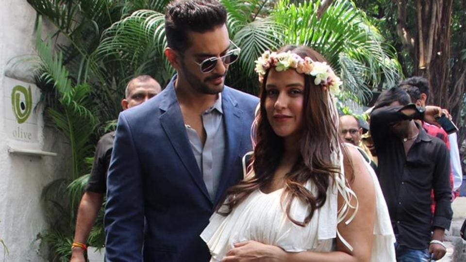 Youll Wish You Were At Neha Dhupias Star Studded Baby Shower See