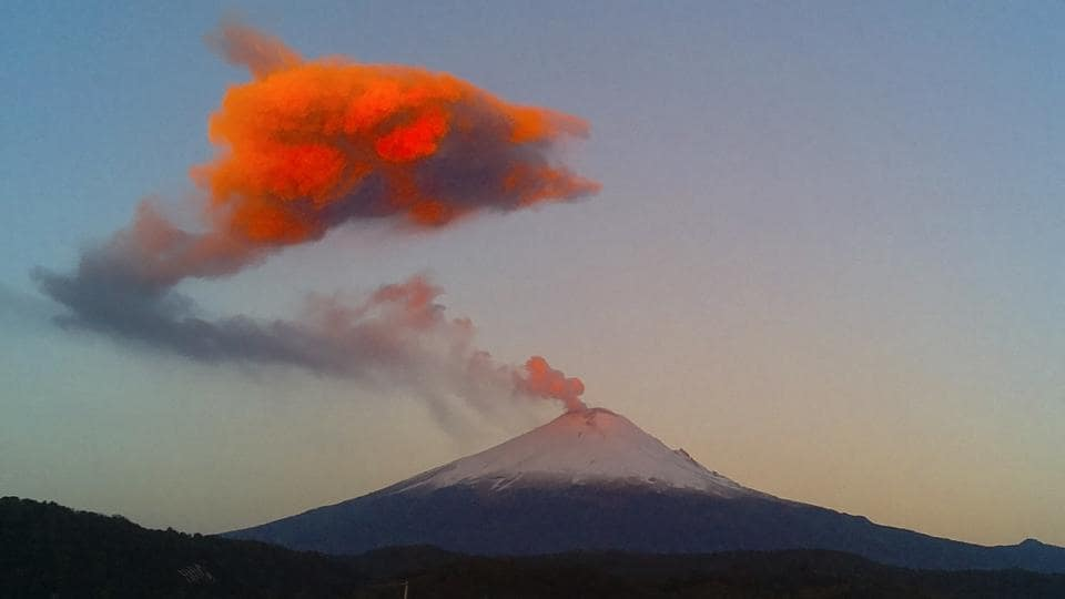Mexico City,Popocatepetl volcano,National Center for Disaster Prevention