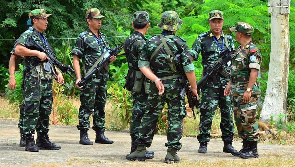 NSCN(K),Naga insurgent groups,Naga talks