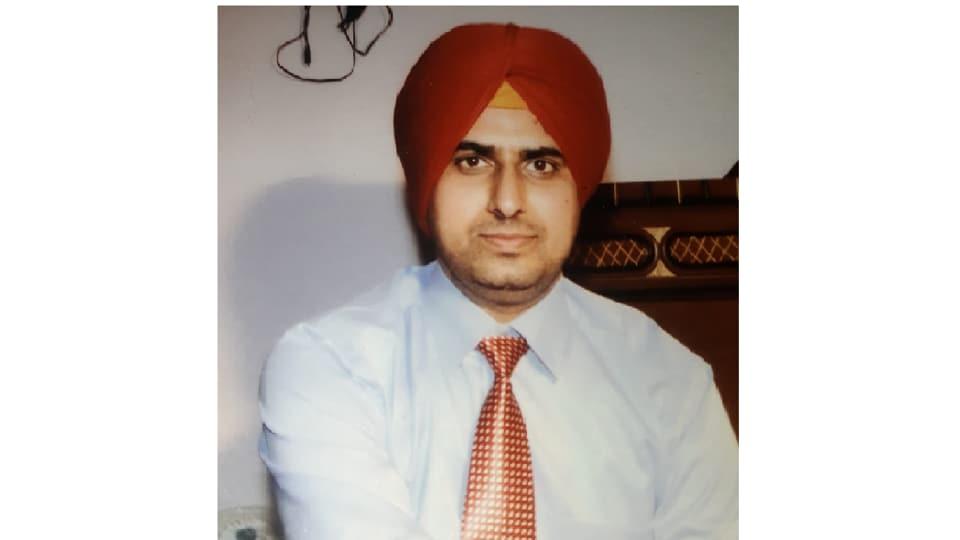 NRI Gurmeet Singh.