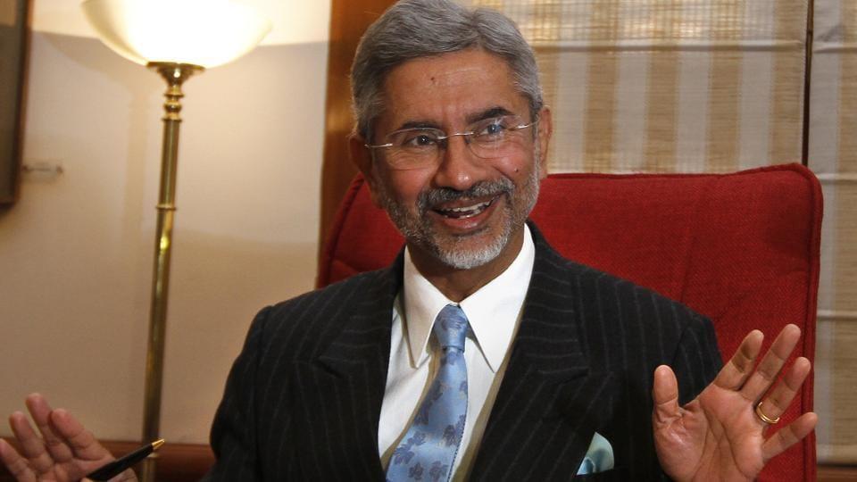 Former foreign  secretary SJaishankar