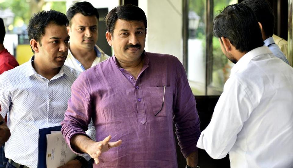 Delhi BJP chief Manoj Tiwari had earlier justified breaking the sealed lock at a house in Delhi, questioning why only one house was sealed by officials if there were 1,000.