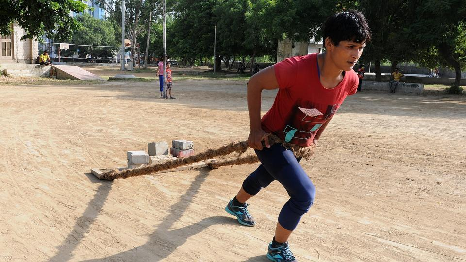 Dalit girl who broke barriers to become a wrestling national