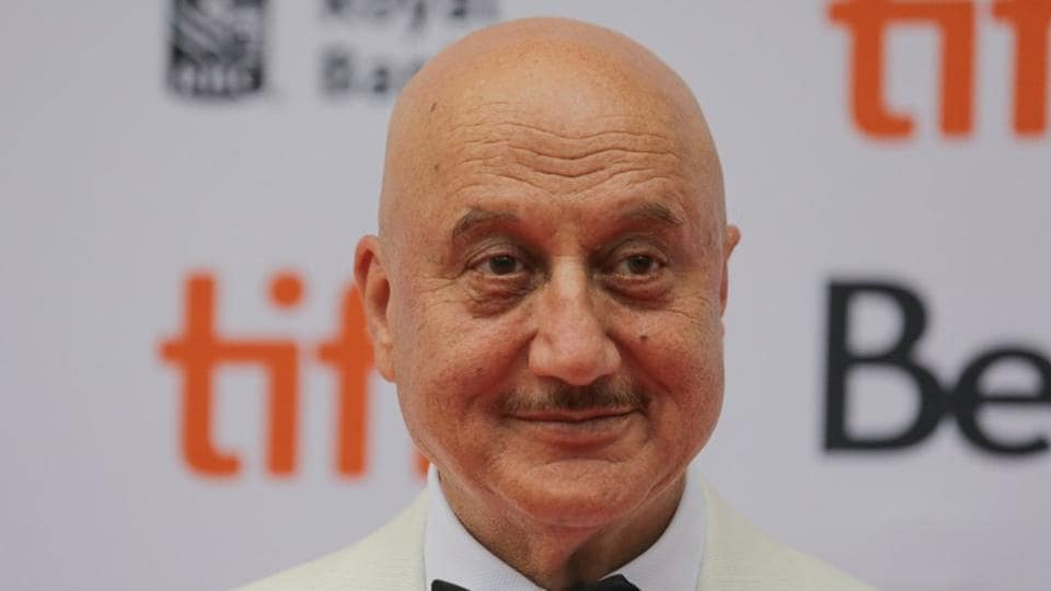 Actor Anupam Kher is shooting for New Amsterdam in New York.