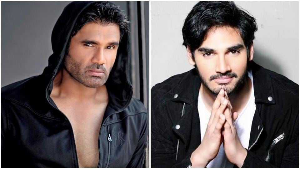 Suniel Shetty's 22-year-old son, Ahan Shetty, is essentially a younger version of his actor-father. (Instagram)
