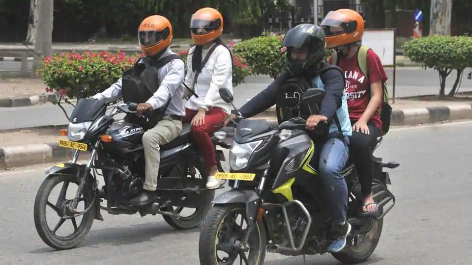 Bike taxis,Chandigarh,Transport department