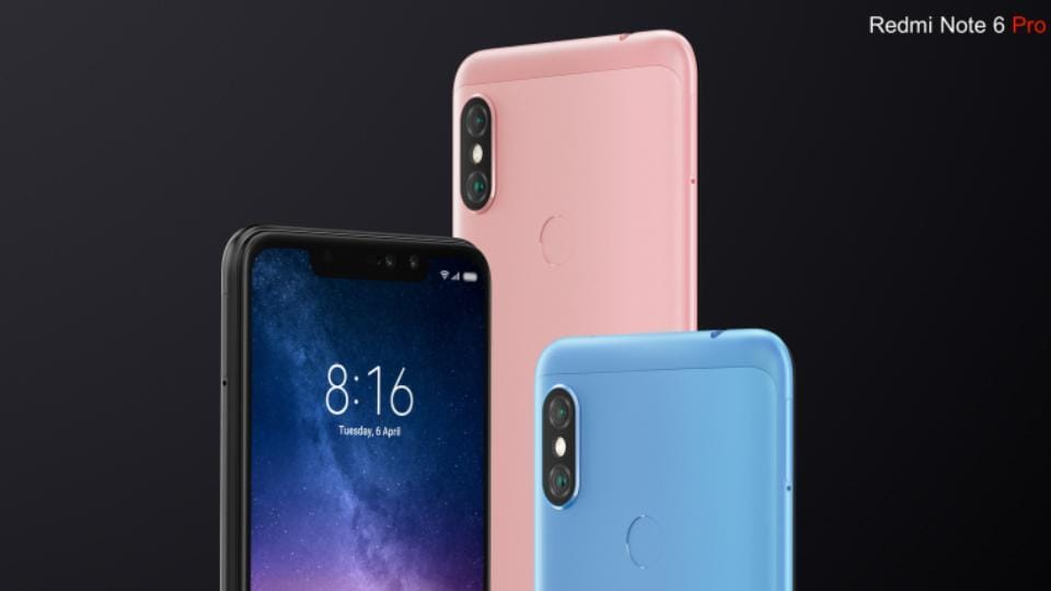 Xiaomi Redmi Note 6 Pro comes with upgrades like a notch display, and four cameras.