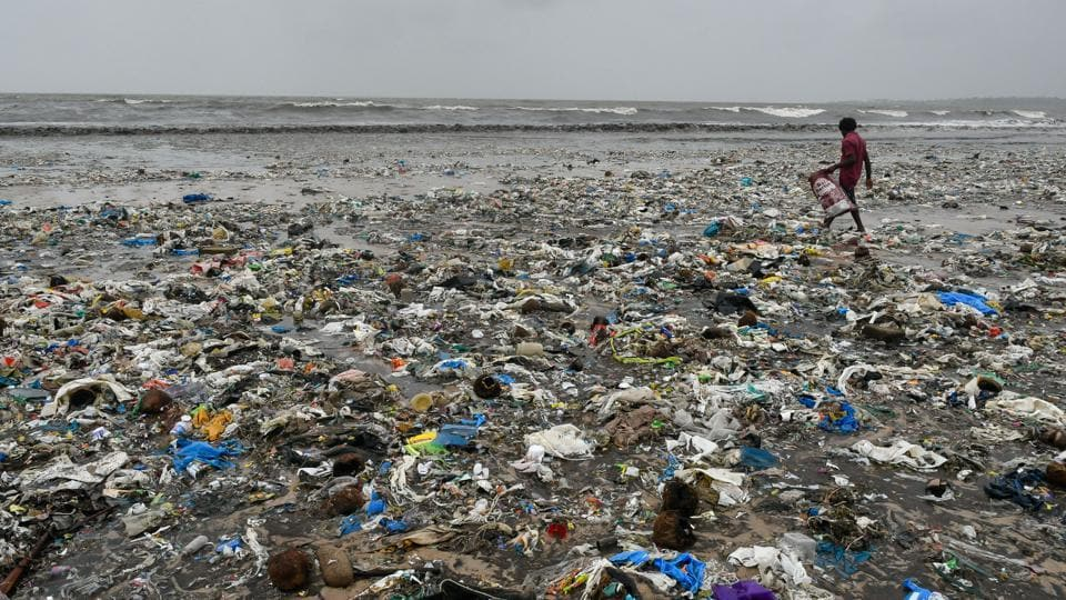 The UN has warned that the world could have 12 billion tonnes of plastic trash by the middle of the century if use is maintained at current levels. Prime Minister Narendra Modi has pledged to make India free of single-use plastic by 2022. But while the majority of India's 29 states have a full or partial ban on single-use plastics, the law is rarely enforced. (Sashi S Kashyap / HT Archive)