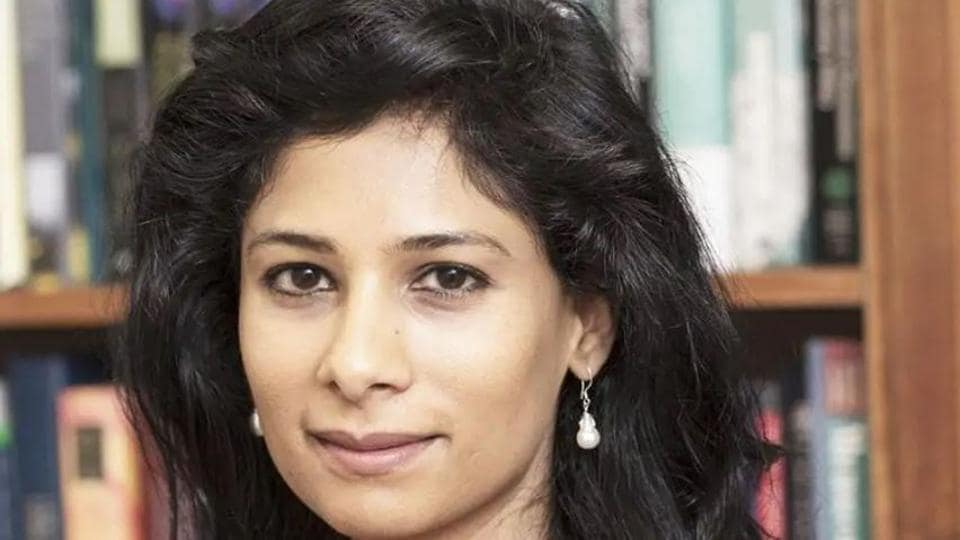 Gita Gopinath is one of the world's outstanding economists, an IMF statement said.