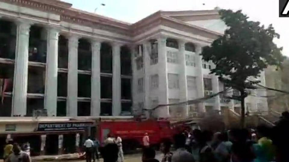 Kolkata Medical College and Hospital fire,Fire at Kolkata medical college