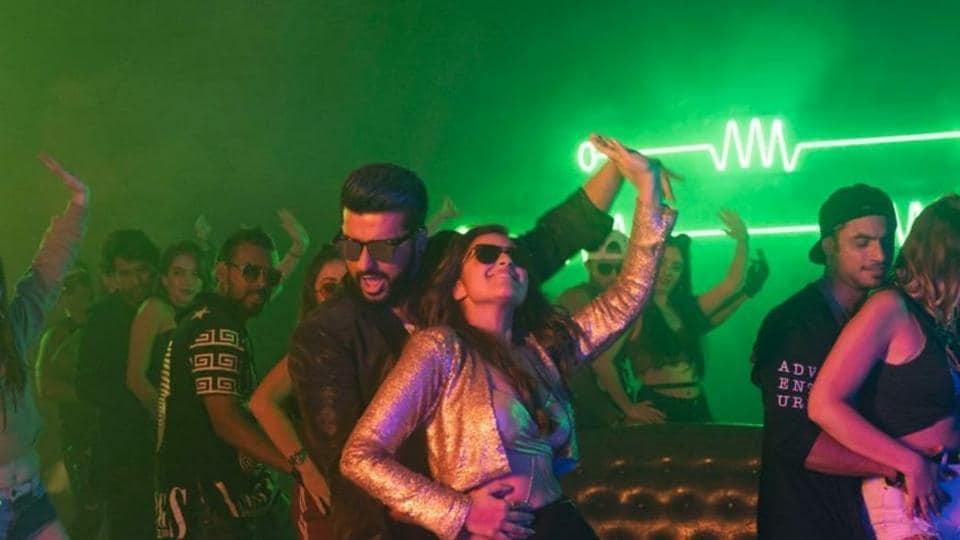 Arjun Kapoor and Parineeti Chopra's look from their upcoming Namaste England song, Proper Patola.
