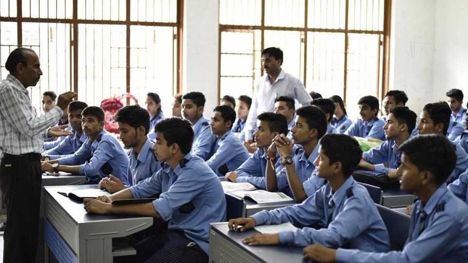 File photo of a government school in Delhi.