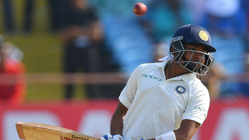 Prithvi Shaw became the second-youngest Indian test cricketer after Vijay Mehra, who made his debut at 17 years, 265 days. (AFP)