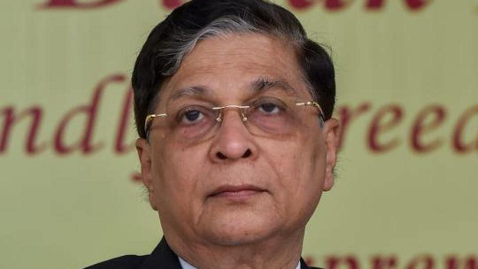 Former Chief Justice of India Dipak Misra.