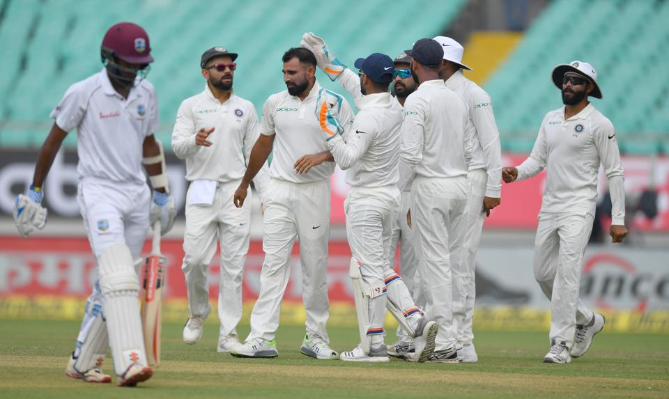 India vs West Indies,India vs West Indies 2018,Mohammed Shami