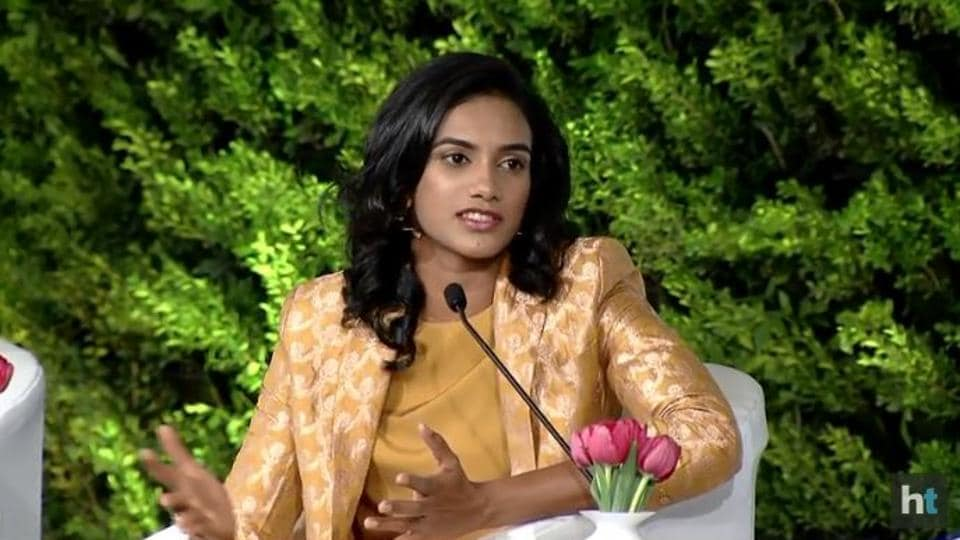 htls2018,PV Sindhu,Saina Nehwal