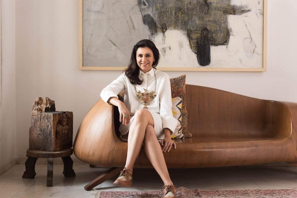 Hyderabad-based Swapna Mehta, 43,  creates what could be best described as contemporary heirlooms for the modern woman