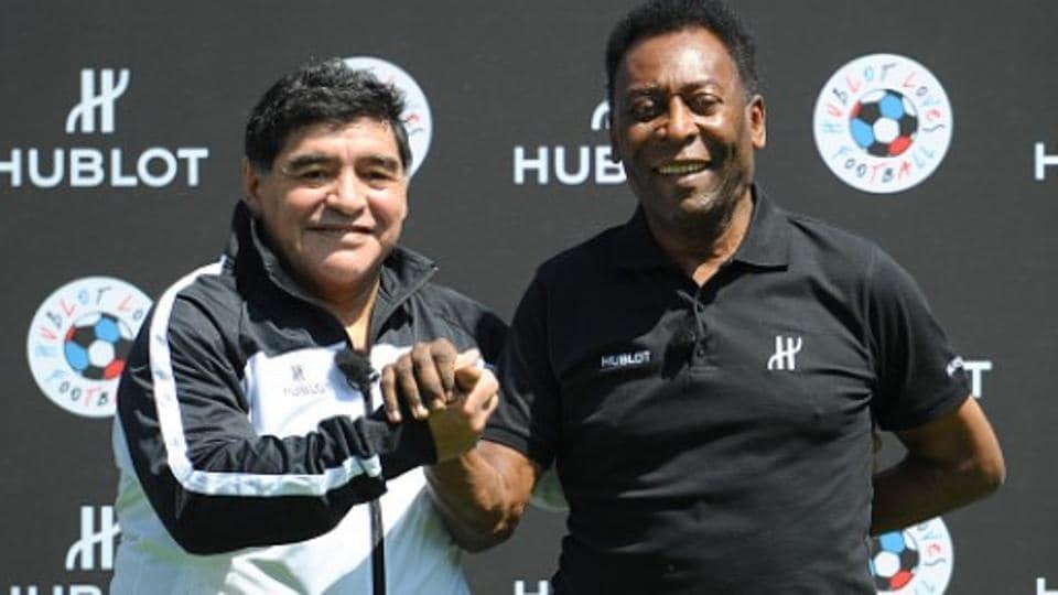 HTLS2018,Pele,Diego Maradona