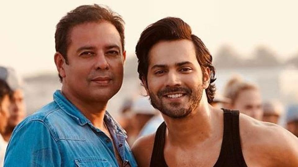 Varun Dhawan from the sets of ...