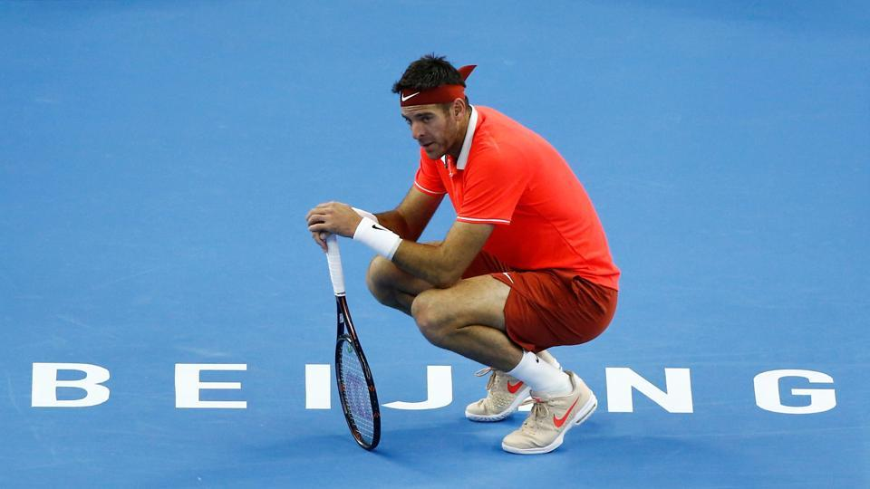 Ailing Del Potro suffers shock Beijing final loss