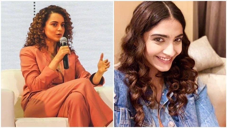 Sonam Kapoor,Kangana Ranaut,Sonam Kapoor Kangana Ranaut
