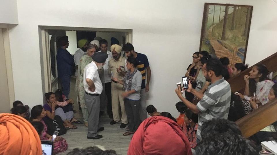 Punjabi University,V-C,hostage