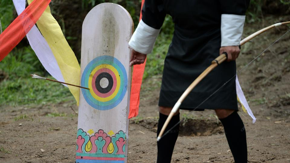 s Living by the bow and arrow in Bhutan s