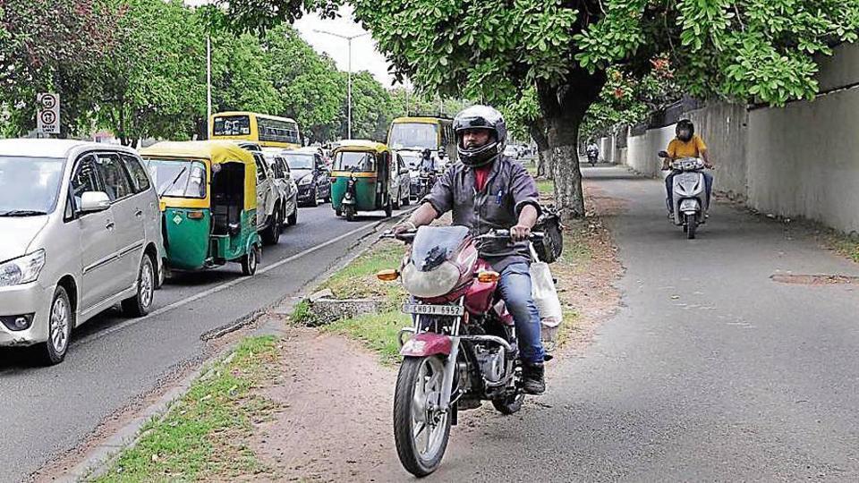 cycle tracks project,Chandigarh,Punjab and Haryana high court