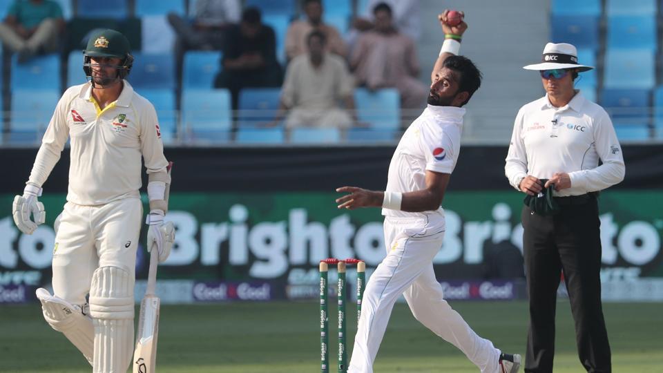 Pakistan vs Australia: Pakistan take on Australia on the third day of the first Test in Dubai on Tuesday.