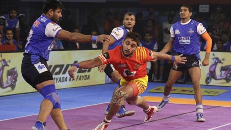 Pro Kabaddi League 2018,Dabang Delhi vs Gujarat Fortunegiants,Live Streaming
