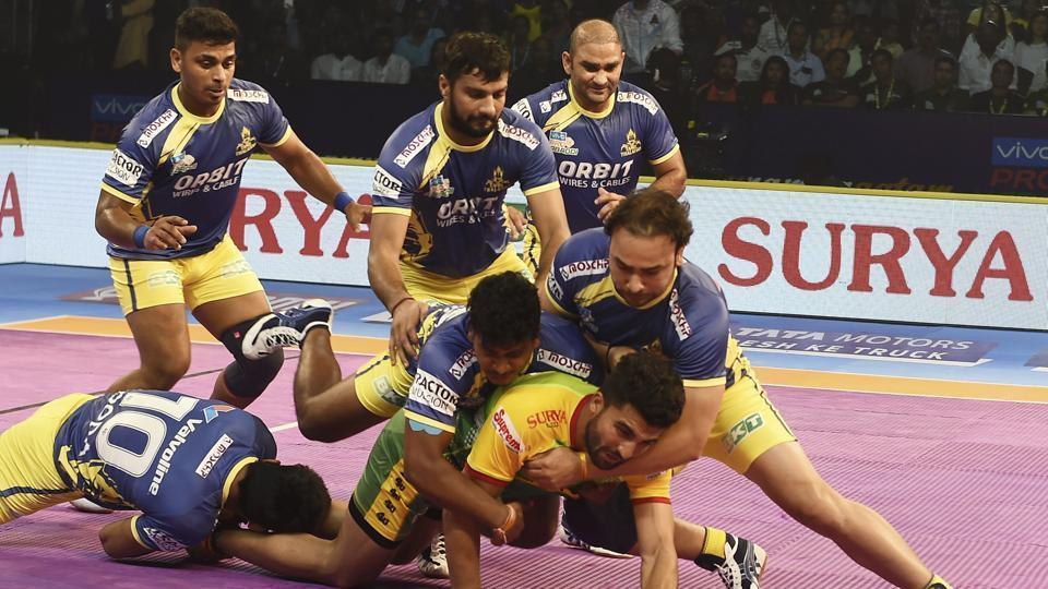 Pro Kabaddi League 2018,Tamil Thalaivas vs Telugu Titans,Live Streaming